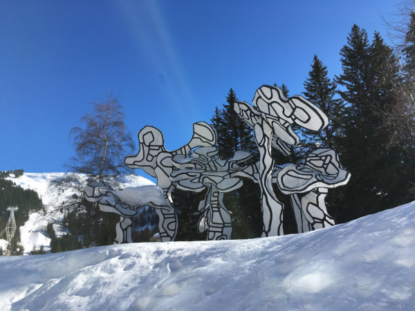 Sculpture Picasso place du forum