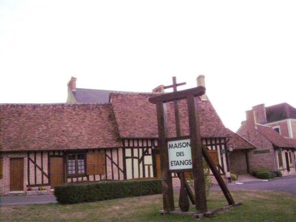 Une des maisons des Etangs