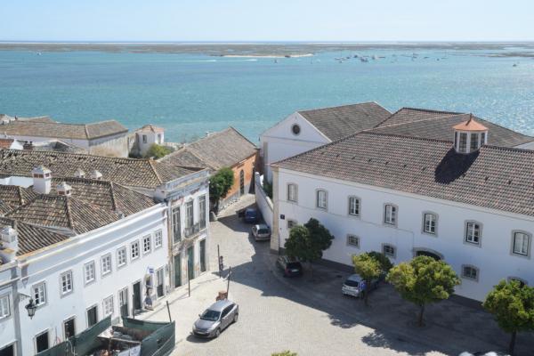 La lagune vue du clocher