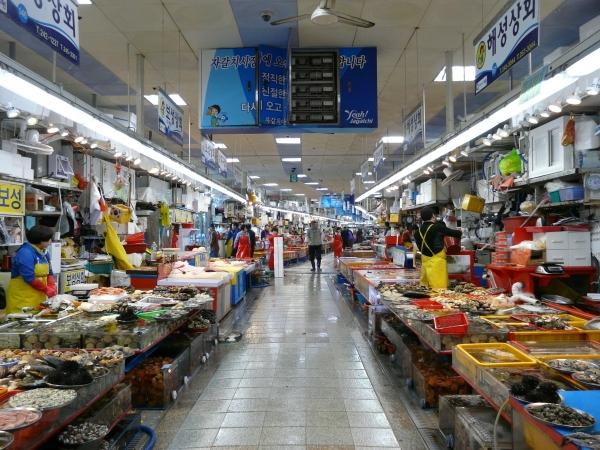 Marché aux poissons (Busan)