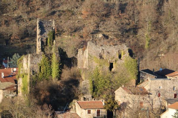 Ruines de Retourtour, vue 3