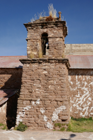 Ile de Taquile, Place centrale, Lac Titica