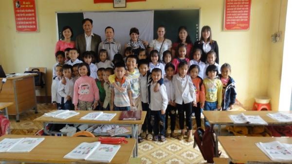 La rencontre dans une classe à TAN NGUYEN province YEN BINH