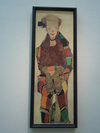 auto portrait d'Egon Schiele