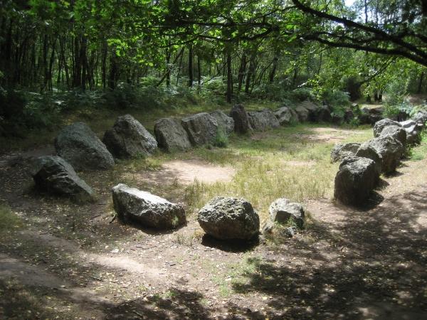 Le jardin aux moines.