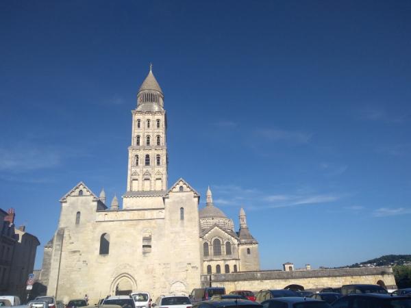 Vue d'extérieur de la cathédrale
