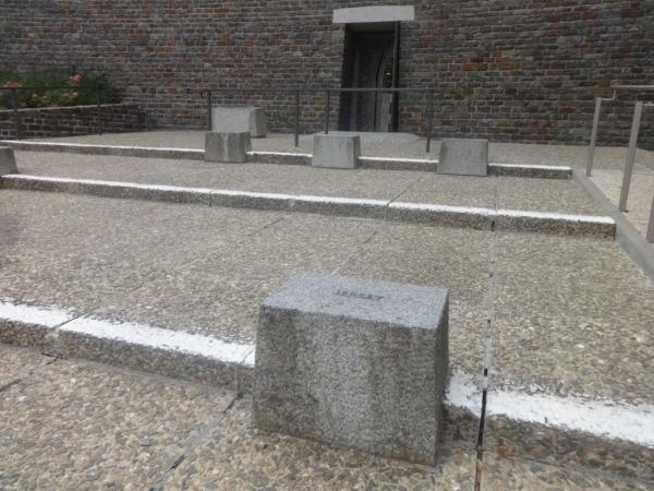 Devanture du mausolée
