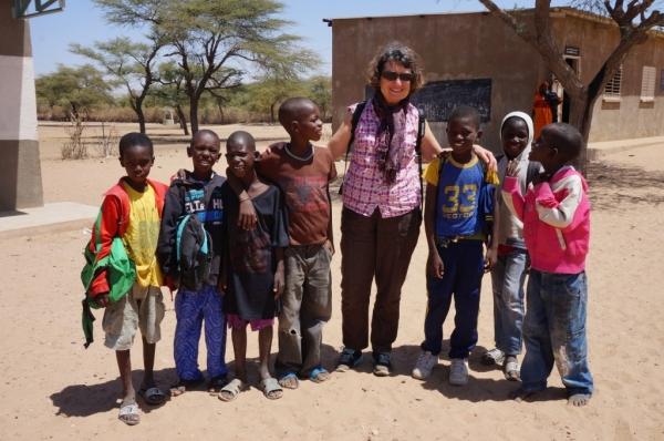 Dans une école de village