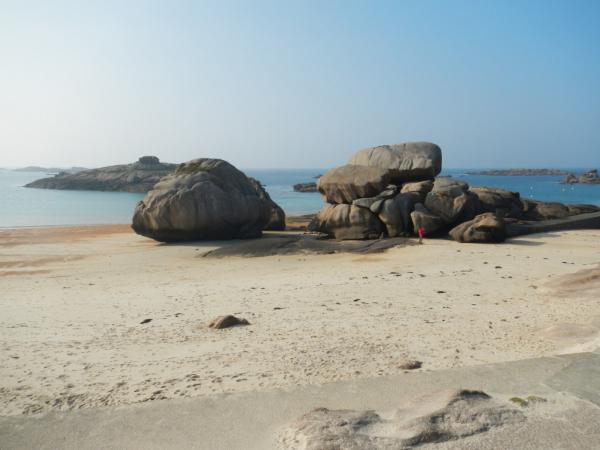 pour apprécier le gigantisme de ces amas rocheux !