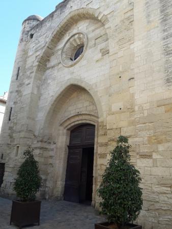 extérieur de l'église des sablons