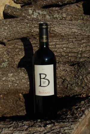 Le B rouge du Domaine de la Brillane