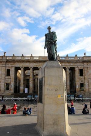 La Statue de S.Bolivar