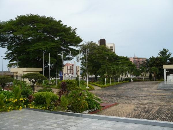 Jardin du mémorial Léon Mba