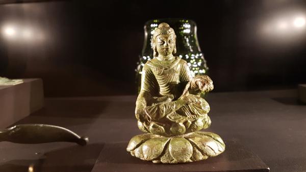 Bouddha Inde  6è s (Vikings)