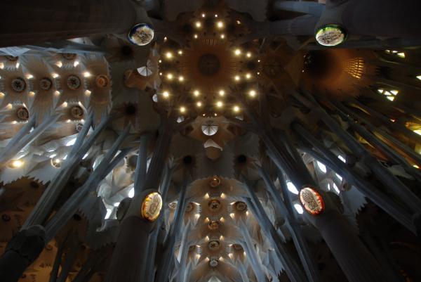 Sagrada Familia, croisée du transept