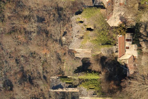 Ruines de Retourtour, vue 2