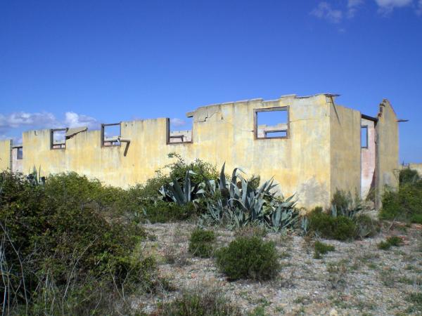 les ruines du camp