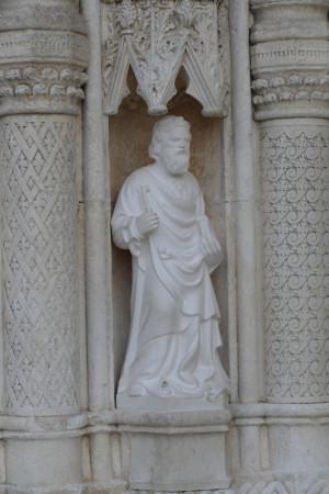 un œuvre sculpté très riche