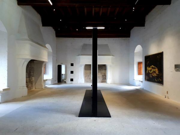 alle d'expoition, château de Montsoreau-Musée d'art contemporain