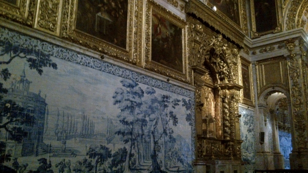 Dorures et azulejos