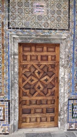 une magnifique porte