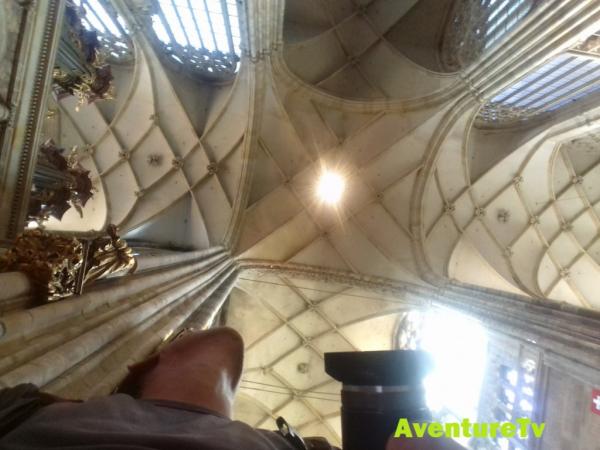 Voute de la cathédrale St Guy
