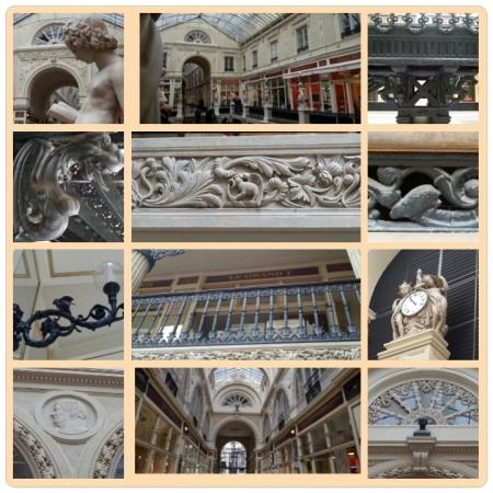 Photos prises lors d'une  visite commentée  sur la restauration