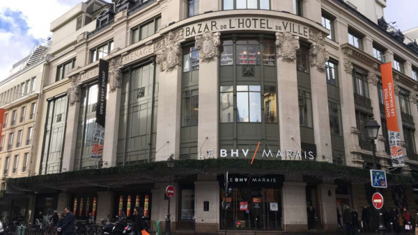 BHV MARAIS Centre commercial – Galerie marchande Paris