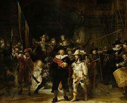 Ronde de nuit  Rembrandt