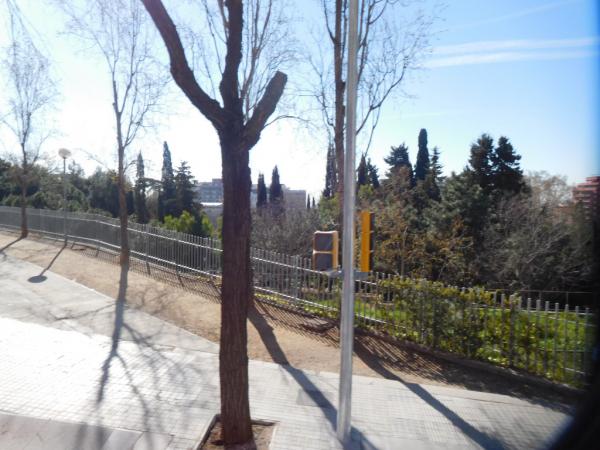 le haut du parc