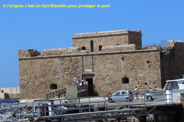 Le fort de PAPHOS