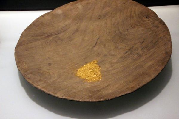 poudre d'or