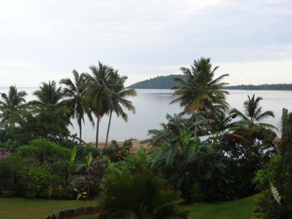 L'Ile de Nosy Sakatia en face de l'hôtel (vu depuis la chambre)