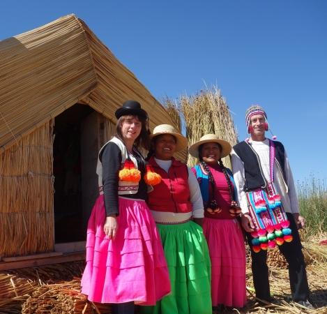 Une rencontre inoubliable avec la comunauté dUros sur le lac Titicaca