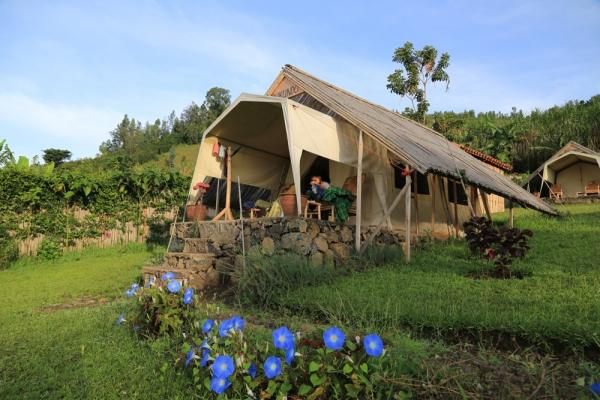 La tente que nous avions lors du séjour au Inzu Lodge en Avril 2014