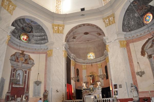 L'intérieur de l'église