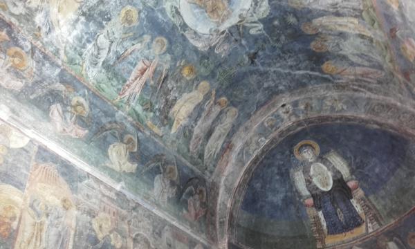 Sainte Sofia d'Ohrid intérieur