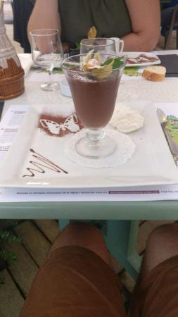 Dessert mousse au chocolat