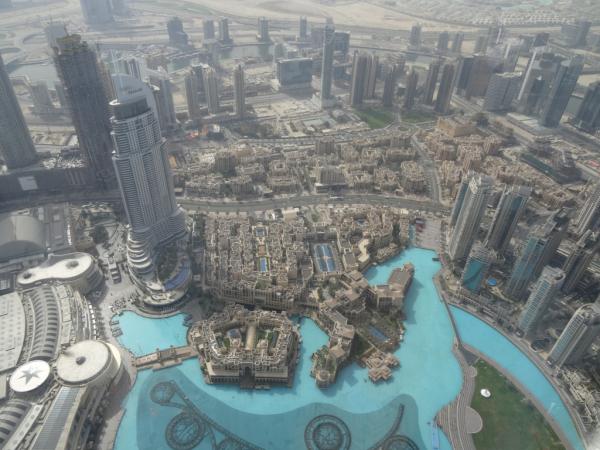 vue du 124e etage