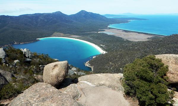 tasmanie un week end au parc national de freycinet
