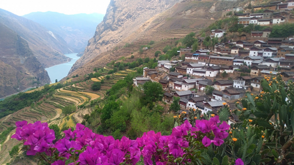 Baoshan et le Yangtze