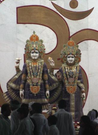 Photo interdites dans le temple ... vue depuis la porte