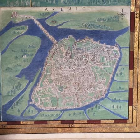 Avignon quand le pont était toujours entier...