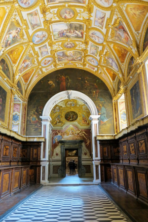 Une des salles du couvent