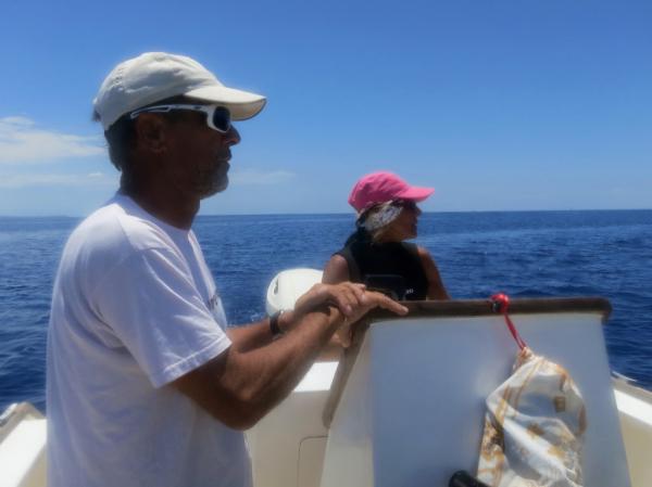Sylvia et Roland, à la recherche du requin baleine