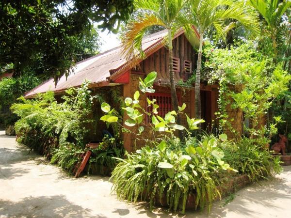 jardin maison amis khuontour