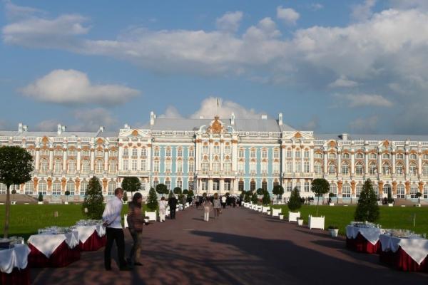 Palais Catherine à Pouchkine