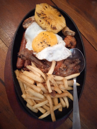 Le mixed grill