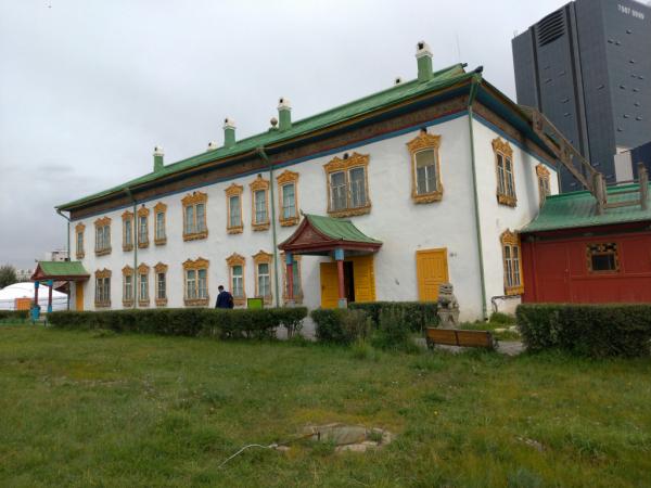 Le Palais d'hiver du Bogdo Khan