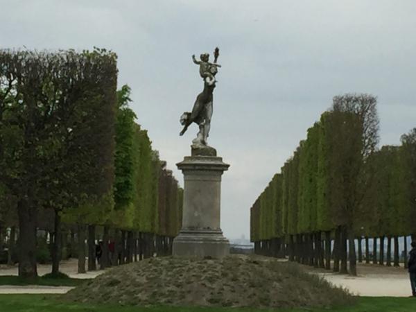 une des statues